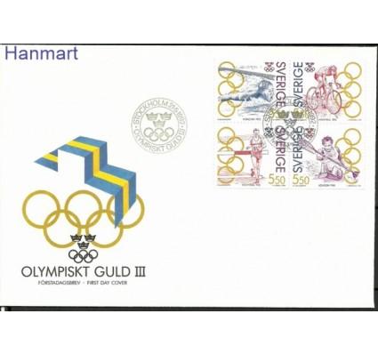 Znaczek Szwecja 1992 Mi 1721-1724 FDC