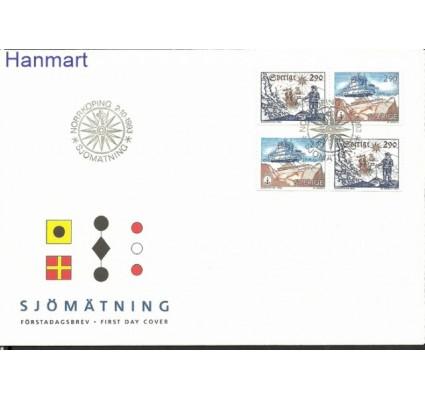 Znaczek Szwecja 1993 Mi 1797-1798 FDC