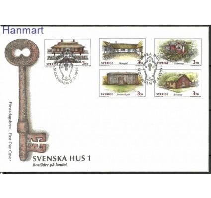 Znaczek Szwecja 1995 Mi 1869-1873 FDC