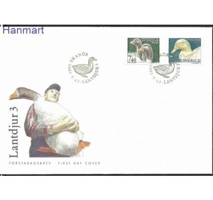 Znaczek Szwecja 1995 Mi 1878-1879 FDC