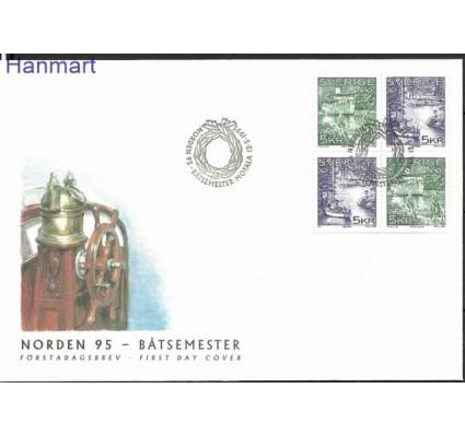 Znaczek Szwecja 1995 Mi 1887-1888 FDC