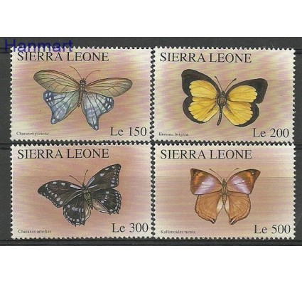 Znaczek Sierra Leone 1996 Mi 2636-2639 Czyste **