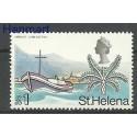 Wyspa św. Heleny 1971 Czyste **