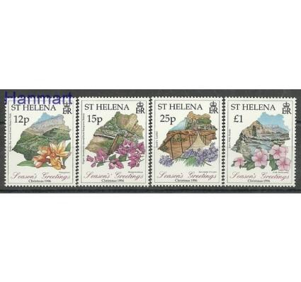 Znaczek Wyspa św. Heleny 1996 Mi 698-701 Czyste **