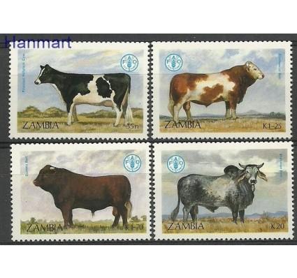 Znaczek Zambia 1987 Mi 429-432 Czyste **