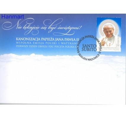 Znaczek Polska 2014 Mi 4669 Fi 4518 FDC