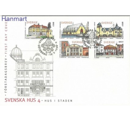 Znaczek Szwecja 1998 Mi 2043-2047 FDC