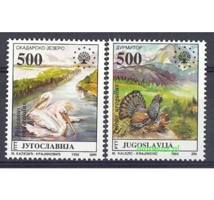 Jugosławia 1992 Mi 2569-2570 Czyste **