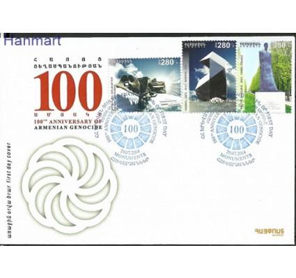 Znaczek Armenia 2014 Mi 893-895 FDC