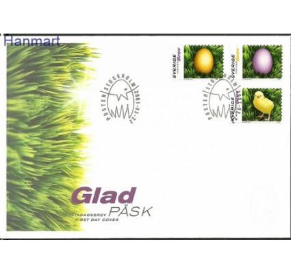 Znaczek Szwecja 2001 Mi 2221-2223 FDC