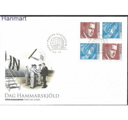 Znaczek Szwecja 2005 Mi 2466-2467 FDC