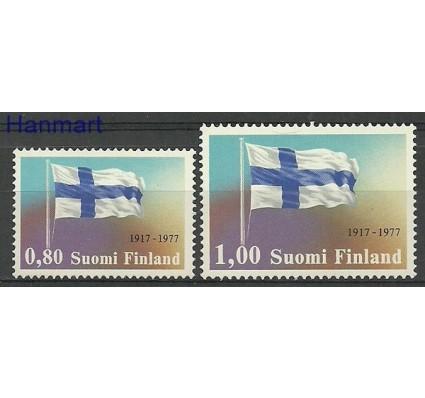 Znaczek Finlandia 1977 Mi 819-820 Czyste **