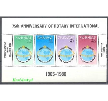 Znaczek Zimbabwe 1980 Mi bl 5 Czyste **