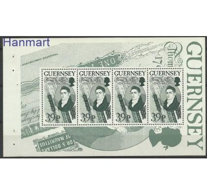 Znaczek Guernsey 1993 Mi h-blatt O-18 Czyste **