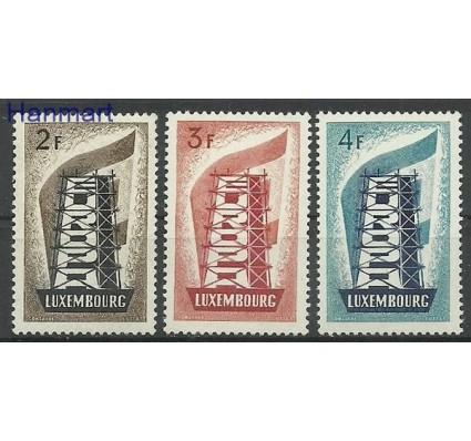 Znaczek Luksemburg 1956 Mi 555-557 Czyste **
