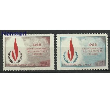 Znaczek Chile 1969 Mi 716-717 Czyste **