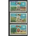 Dahomej 1969 Mi 390-392 Czyste **