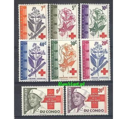 Znaczek Kongo Kinszasa / Zair 1963 Mi 119-126 Czyste **