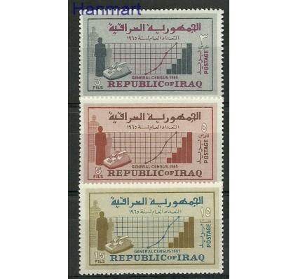 Znaczek Irak 1965 Mi 429-431 Czyste **