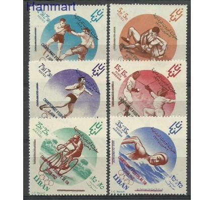 Znaczek Liban 1962 Mi 778-783 Czyste **