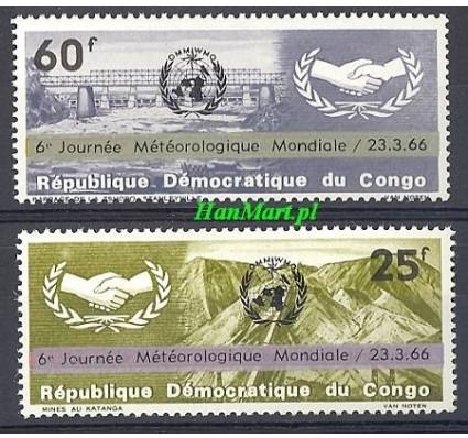 Znaczek Kongo Kinszasa / Zair 1966 Mi 252-253 Czyste **