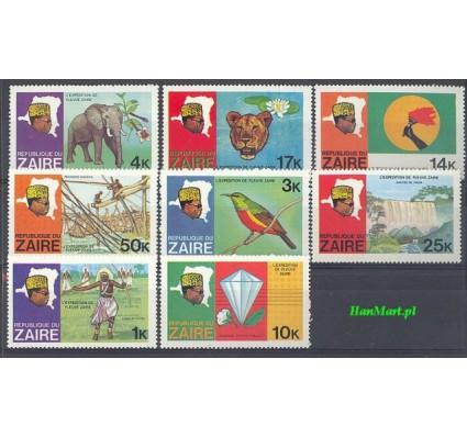Znaczek Kongo Kinszasa / Zair 1979 Mi 589-596 Czyste **