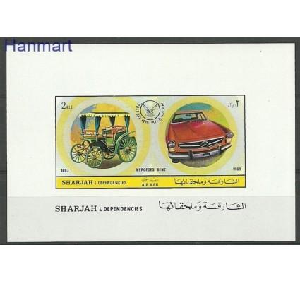 Znaczek Sharjah 1971 Mi bl 80B Czyste **