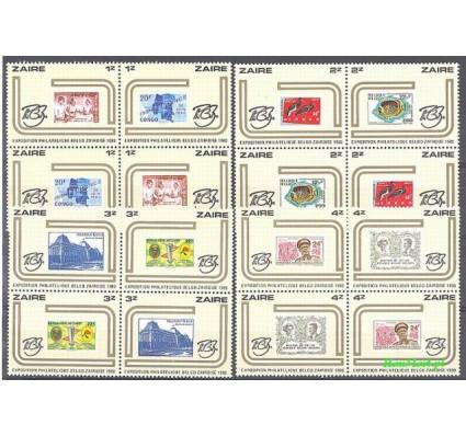 Znaczek Kongo Kinszasa / Zair 1980 Mi 673-688 Czyste **