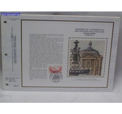 Znaczek Francja 1984 Mi 2449 Pierwszy dzień wydania