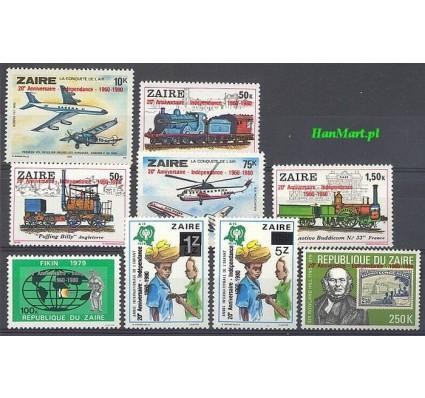 Znaczek Kongo Kinszasa / Zair 1980 Mi 694-702 Czyste **