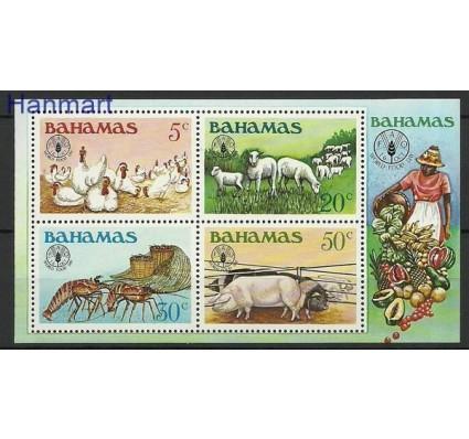 Znaczek Bahamy 1981 Mi bl 35 Czyste **