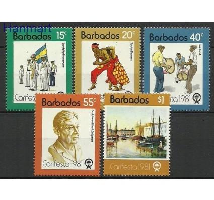 Znaczek Barbados 1981 Mi 530-534 Czyste **