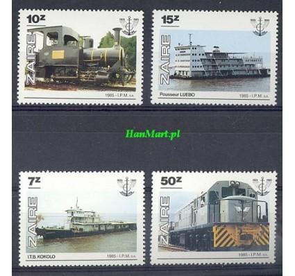 Znaczek Kongo Kinszasa / Zair 1985 Mi 924-927 Czyste **