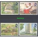 Kongo Kinszasa / Zair 1990 Mi 949-952 Czyste **