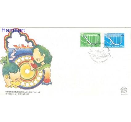 Znaczek Indonezja 1980 Mi 978-979 FDC