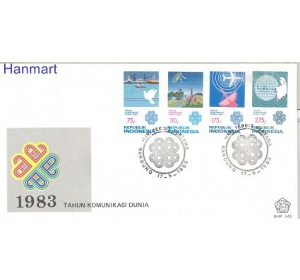 Znaczek Indonezja 1983 Mi 1093-1096 FDC