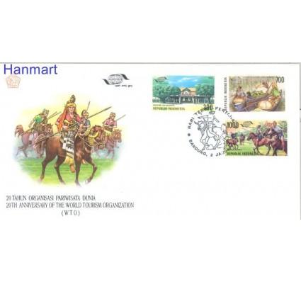 Znaczek Indonezja 1995 Mi 1551-1553 FDC