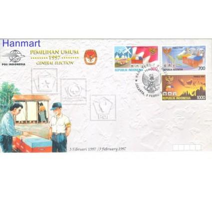 Znaczek Indonezja 1997 Mi 1684-1686 FDC
