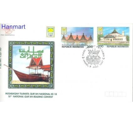 Znaczek Indonezja 1997 Mi 1707-1708 FDC