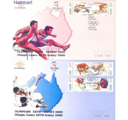Znaczek Indonezja 2000 Mi 1998-2003 FDC