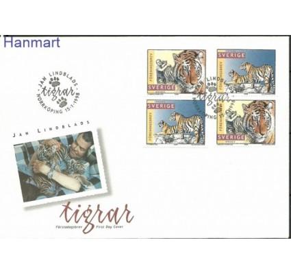 Znaczek Szwecja 1998 Mi 2032-2033 FDC