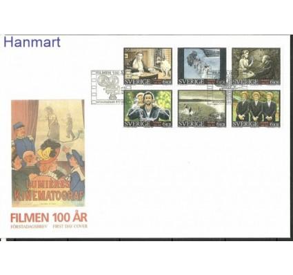 Znaczek Szwecja 1995 Mi h-blatt 234 FDC