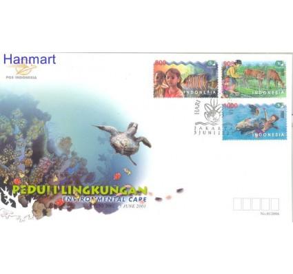 Znaczek Indonezja 2001 Mi 2109-2111 FDC