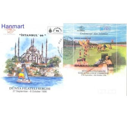Znaczek Indonezja 1996 Mi bl 112 FDC