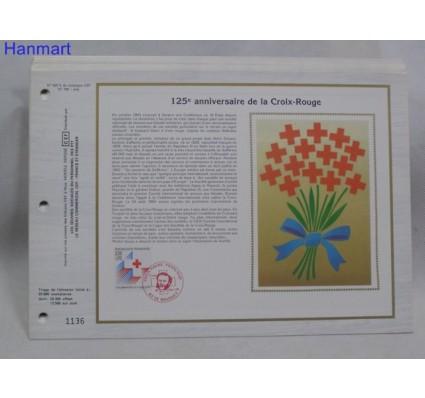 Znaczek Francja 1988 Mi 2692 Pierwszy dzień wydania