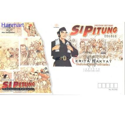 Znaczek Indonezja 2001 Mi bl 166 FDC