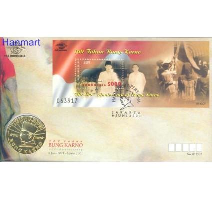 Znaczek Indonezja 2001 Mi bl 169 FDC