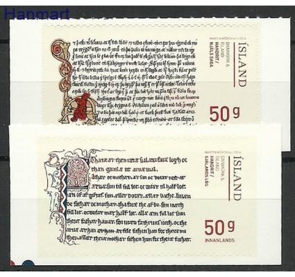 Znaczek Islandia 2014 Mi 1437-1438 Czyste **