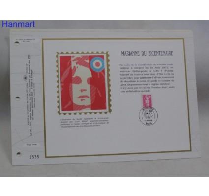Znaczek Francja 1992 Mi 2914 Pierwszy dzień wydania