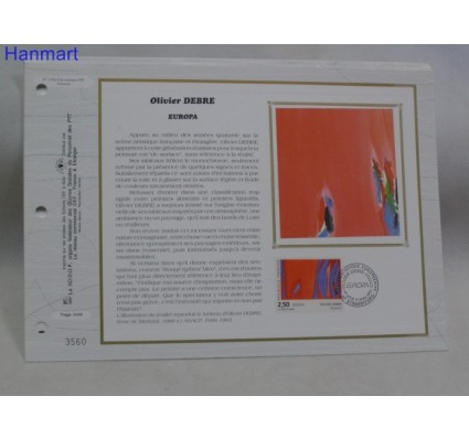 Znaczek Francja 1993 Mi 2943 Pierwszy dzień wydania
